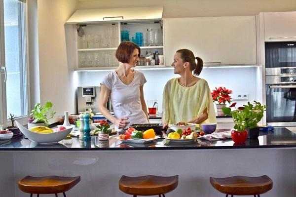 Barbora Burgerová a Veronika Poskočilová