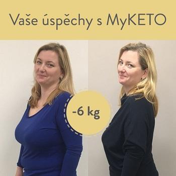 Petra pod naším vedením s MyKETO zhubla krásných 6 kg