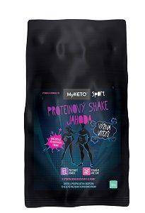 Proteinový shake Jahoda