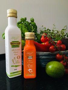 Zdravé bio oleje olivové, dýňové aavokádové