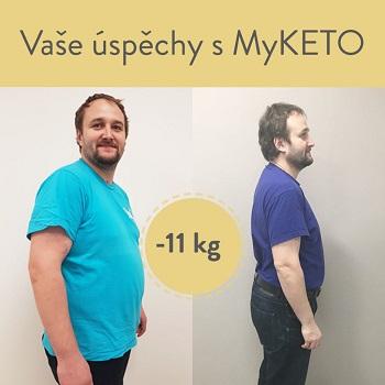 Mirek zhubl s MyKETO úžasných 11 kg