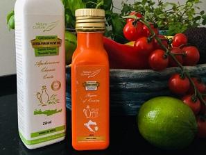 zdravé oleje olivové, dýňové a avokádové