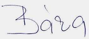 Barbora Bürgerová podpis